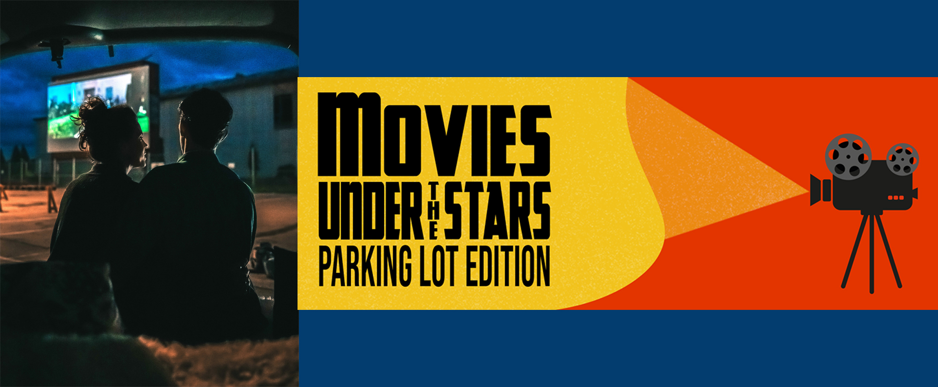 Queen of the Square Movies Under the Stars Parking Lot Edition